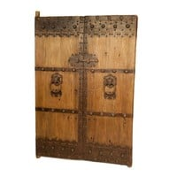 Pre-owned Antique Wooden Gate Doors