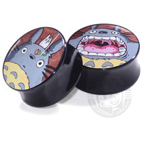 Totoro Painting - Acrylic - Image Plugs - COLLECTORS - 1/50