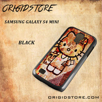 Obey Hello Kitty For Samsung Galaxy S4 Mini Snap On and 3D Case