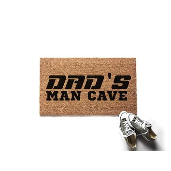 Dad's Man Cave Doormat