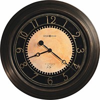 """26""""H Chadwick Wall Clock in Antique brushed brass"""