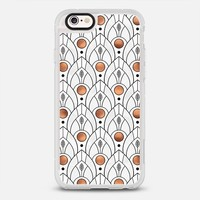 Art Deco Leaves - White iPhone 6s case by Elisabeth Fredriksson | Casetify