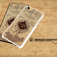 Harry Potter Inspired Marauders Map Samsung Galaxy S3 S4 S5 Note 3 , iPhone 4(S) 5(S) 5c 6 Plus , iPod 4 5 case