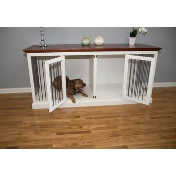 Damien Double Wide Large Credenza Pet Crate