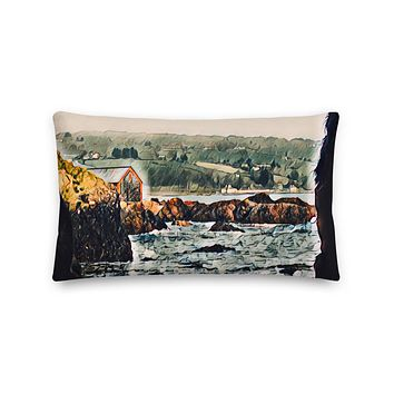 """Game of Thrones Cove"" Premium Pillow Travel Themed Gift"