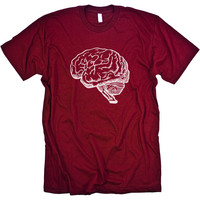 Brain Anatomy Science Shirt