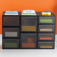 The Container Store > Like-it® Smoke Stacking Drawers
