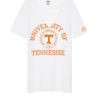 University Of Tennessee Cutout Campus Tee - PINK - Victoria's Secret
