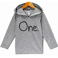 First Birthday One - Baby Boy's Hoodie
