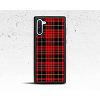 Red Plaid Phone Case for Samsung Galaxy S & Note