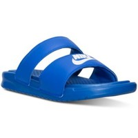 Nike Women's Benassi Duo Ultra Slide Sandals from Finish Line | macys.com