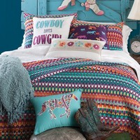 Cowboy Loves Cowgirl Quilt - Quilts - Bedding