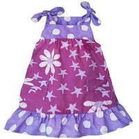 "Fair Trade Cotton ""Daisy Star"" Pocket Sundress"