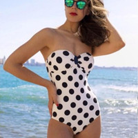Swimsuit Sexy Summer New Arrival Beach Hot Vintage Ladies Swimwear Bikini [4914837380]