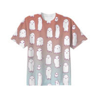 Lil Ghosties Tee created by Brettisagirl | Print All Over Me