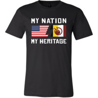 American Indian Shirt - My Nation - My Heritage - Native Roots Gift