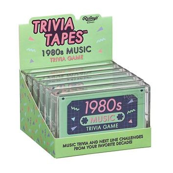 Trivia Tapes: 1980's Music Game