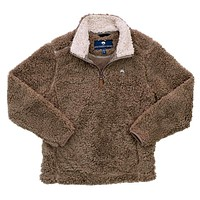 YOUTH Sherpa Pullover with Pockets in Caribou by The Southern Shirt Co.