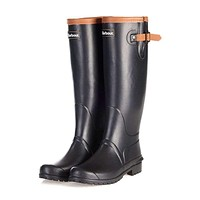 Women's Blyth Wellington Boots in Black by Barbour