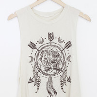Dream Catcher Elephant Top (More Colors)