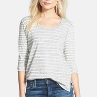 Women's James Perse 'Collage' Long Sleeve Tee