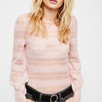 Free People Young Up Layering Top