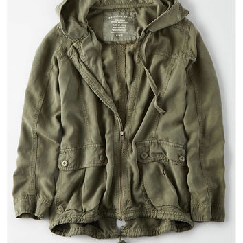 AE Hooded Parka, Olive