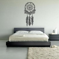 Wall Decal Vinyl Sticker Decals Dream Catcher Dreamcatcher Bedroom (Z1372)