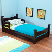 KidKraft Addison Toddler Bed Espresso - 76275