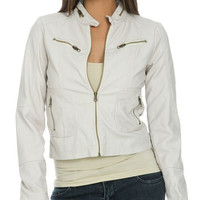 Distressed Faux Leather Jacket   Shop Jackets at Wet Seal