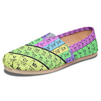 Periodic Table Casual Shoes-Clearance