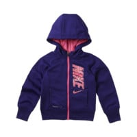 Nike KO 3.0 Graphic Full-Zip Toddler Girls' Hoodie
