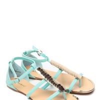 Mint Gipsy Soul Caged Sandals