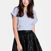 New York Minute Sequined Skirt By Keepsake - $128.00 : ThreadSence, Women's Indie & Bohemian Clothing, Dresses, & Accessories