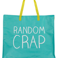 Random Crap Large Tote Bag
