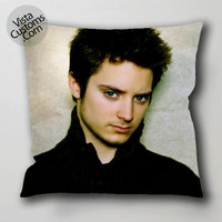 elijah wood 1 pillow case, cushion cover ( 1 or 2 Side Print With Size 16, 18, 20, 26, 30, 36 inch )