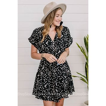 Going Through The Motions Floral Mini Dress