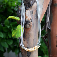 Silver Linings Gold Plated Layered Necklace