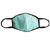 Keeping it in Style! Solid Mint Face Masks - Covid 19