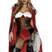 Red Haute Storybook Character Costume