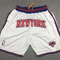 Just Don New York Knicks Basketball Classic 1994 The Finals Sports Shorts - Best Deal Online