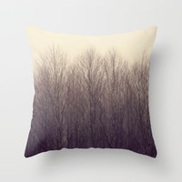 Forest Throw Pillow by RDelean