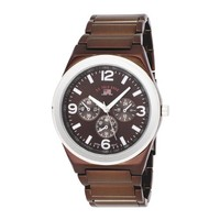 U.S. Polo Assn. Classic Men's US8415 Brown Dial Spray Brown Plated Bracelet Watch
