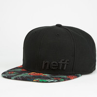 Neff Daily Astro Floral Mens Snapback Hat Black Combo One Size For Men 25166514901