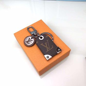 KUYOU LOUIS VUITTON M64180 oldie pendant Travel Tag bag ornament with key chain LV