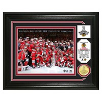 Highland Mint Chicago Blackhawks 2015 Stanley Cup Champions Coin Photo Mint (Hwk Team)