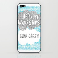 The Fault in Our Stars iPhone & iPod Skin by S. L. Fina