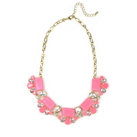 Pink Lilly Necklace