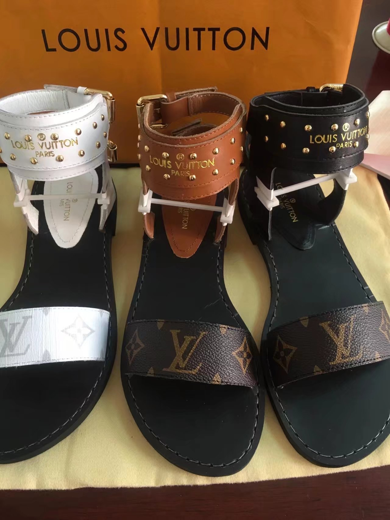 Image of Louis Vuitton Fashion LV Women's Casual Running Sport Shoes Sneakers Slipper Sandals High Heels Shoes 06112