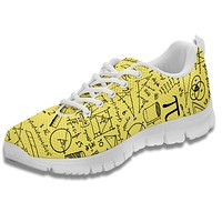 Math Pattern Sneakers-Clearance PP